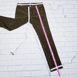LOFT Jeans - LOFT Brown Corderoy Straight Leg Jeans 2P